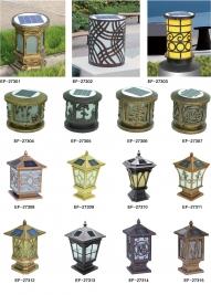 中式柱头灯厂家